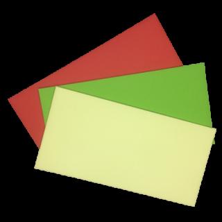 Umschlag, farbig